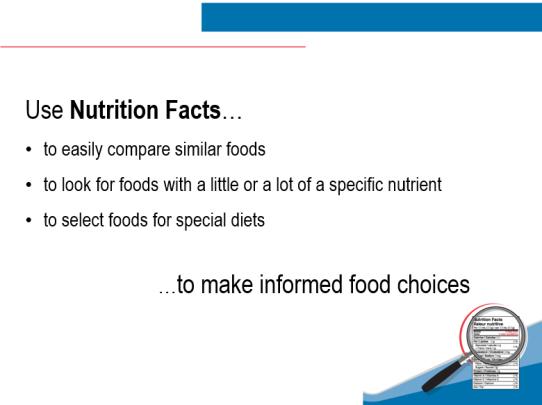 Nutrition Labels 3